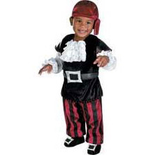 Puny Pirate Costume Infant 12-18 Months