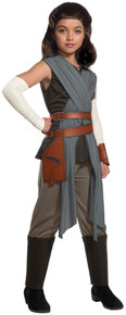 Rey The Last Jedi Deluxe Child Costume