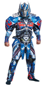 Optimus Prime Deluxe Adult Costume XL