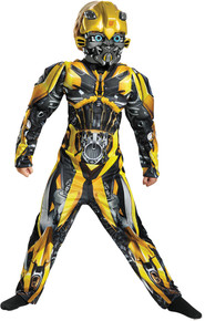 Bumblebee Muscle Child Costume Lrg 10-12