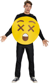X-Ray Eyes Emoji Sandwich Board Costume