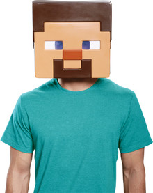 Steve Minecraft Adult Mask