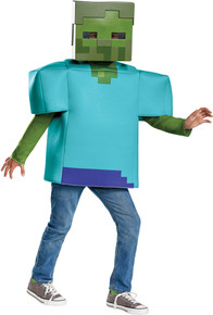 Zombie Minecraft Child Costume