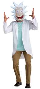 Rick & Morty Adult Costume
