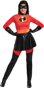 Mrs. Incredible Skirted Deluxe Adult Costume