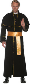 Priest Adult Costume Gold