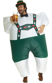 Lederhosen Megamorph Inflatable Adult Costume