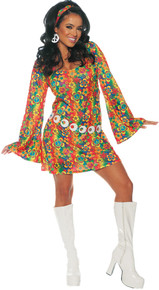 Summer Hippie Adult Costume