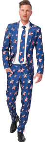 Stars & Stripes Adult Novelty Suit