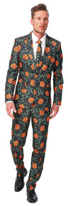 Halloween Pumpkin Novelty Suit