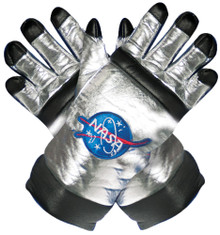 Silver Astronaut Child Gloves