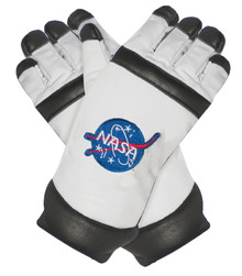 White Astronaut Child Gloves
