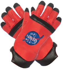 Orange Astronaut Child Gloves