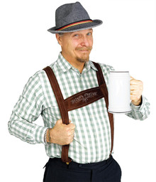 Lederhosen Adult Costume Kit