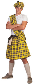 Highlander Yellow Adult Costume