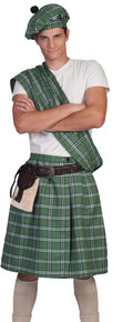 Highlander Green Adult Costume