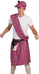 Highlander Pink Adult Costume