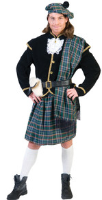 Scottish Clansman Adult Costume