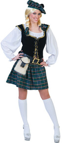 Scottish Lass Adult Costume