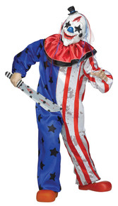 Scary Clown Child Costume