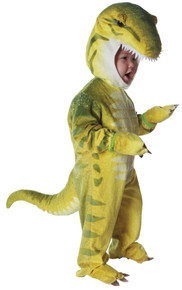 Green T Rex Toddler Costume 2-4