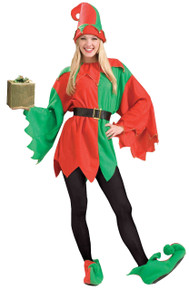 Santa's Helper Elf Adult Costume