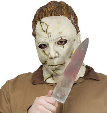 Michael Myers Adult Mask & Knife Set