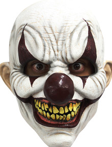 Chomp Clown Latex Mask