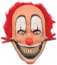 Tweezer Clown Latex Mask