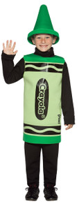 Crayola Green Crayon Child Size 4-6