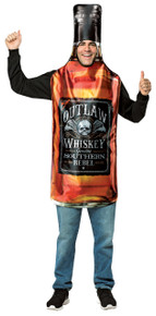 Whisky Bottle Adult Costume