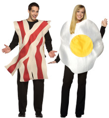 Bacon & Eggs Adult Couples Costume