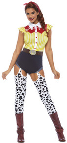 Giddy Up Cowgirl Adult Costume