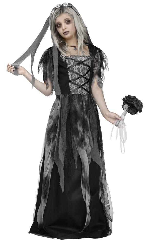 Gothic Bride Child Costume , FantasyCostumes.com