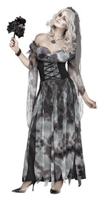 Gothic Bride Adult Costume