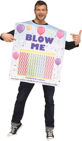 Box Of Birthday Candles Adult Costume