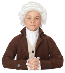 Colonial Man Child Wig