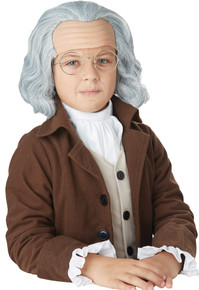 Benjamin Franklin Child Wig