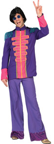 Fab 60's Purple Adult Jacket