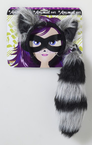 Raccoon Costume Kit w/ Tail