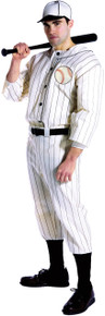 Old Time Baseball Player Adult Costume