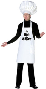 The Bun Maker Adult Costume