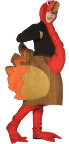 Turkey Walker Child Costume Medium 7-10