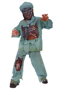 Zombie Doctor Costume Child