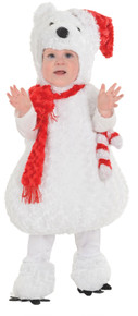 Christmas Polar Bear Toddler Costume