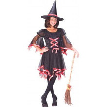 Ribbon Witch Costume Child Sml 4-6