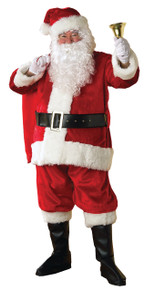 Deluxe Plush Regency Santa Costume XL