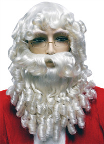 Curly Santa Wig & Beard