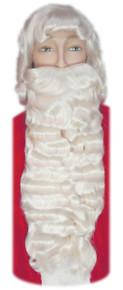White Santa Wig & Beard