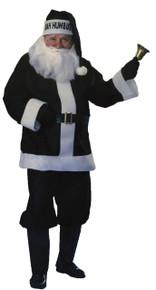 Bah Humbug Black Santa Suit